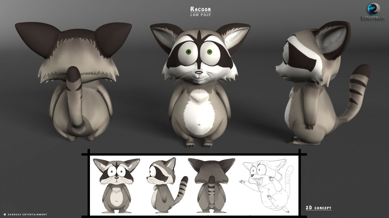 [Image: Raccoon-Low-Poly-3D-Animal_ZE.jpg]