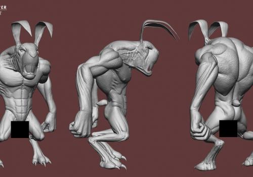 Rabbit – Zbrush Sculpt