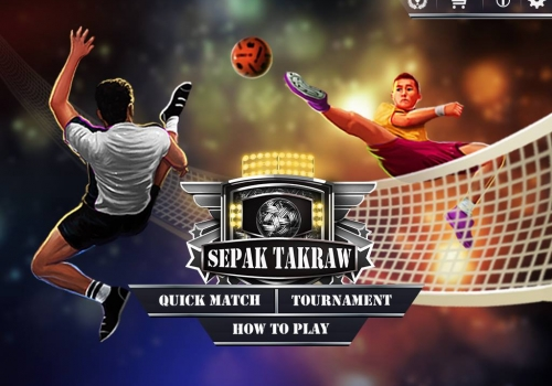 Sepak Takraw – 3D Game